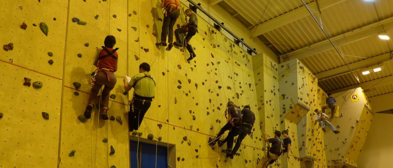 Des entraînements au mur tous les jeudis soir…..